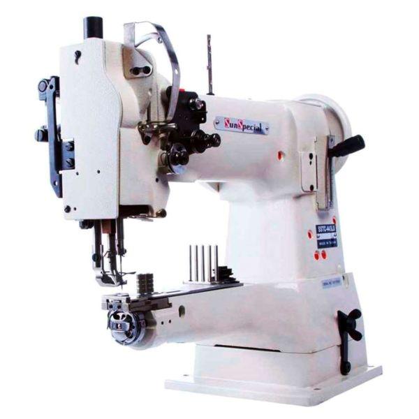 Máquina Costura Industrial Braço Transporte Triplo Cilíndrica SSTC445LB Sun Special