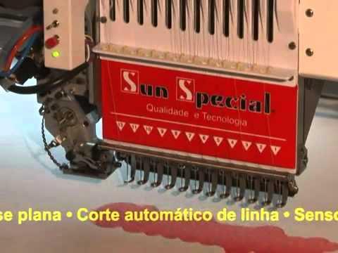 Máquina Bordado Cilíndrica 2 Cabeça SS-1202C Sun Special
