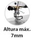 Máquina de Costura Industrial Galoneira Plana Aberta e Fechada 03 Agulhas Altura 7mm