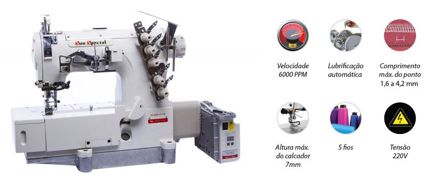 Máquina Costura Industrial Galoneira